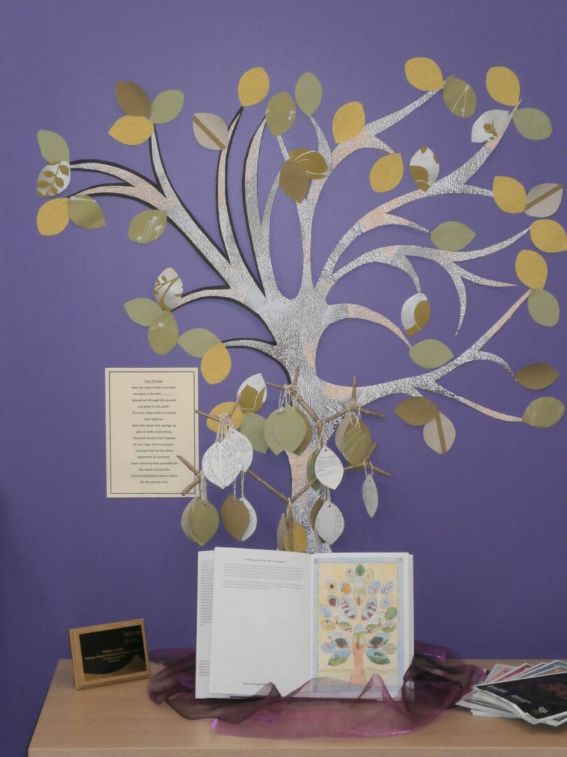 Tree showing children prayers